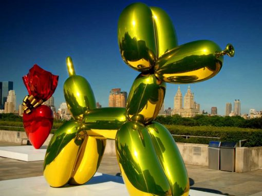 Jeff Koons<br> Beyond Heaven